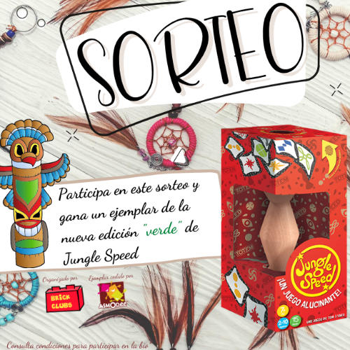JUNGLE SPEED SORTEO